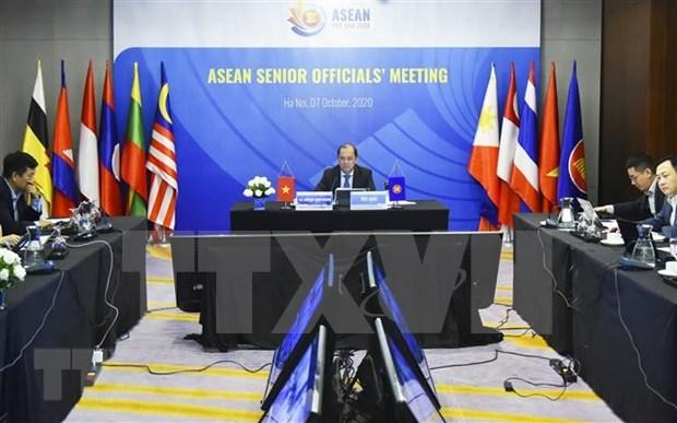 Efectuan Reunion de Altos Funcionarios de la ASEAN hinh anh 1