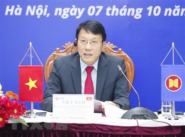 Vietnam se compromete a garantizar la seguridad cibernetica de la ASEAN hinh anh 1