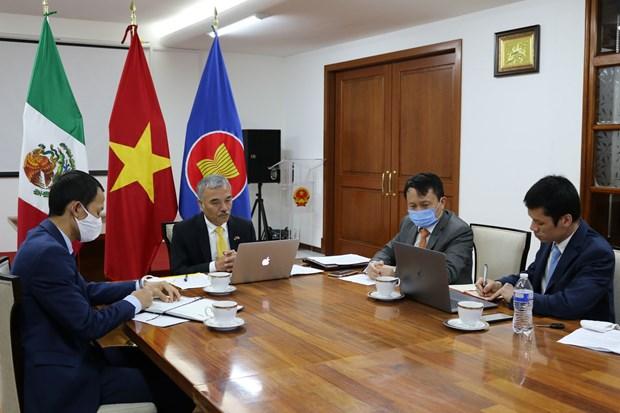 Fortalecen Vietnam y Mexico promocion comercial en marco de Tratado Transpacifico hinh anh 1