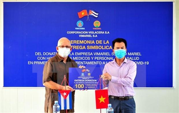 Empresa vietnamita aporta lucha cubana contra COVID-19 hinh anh 1