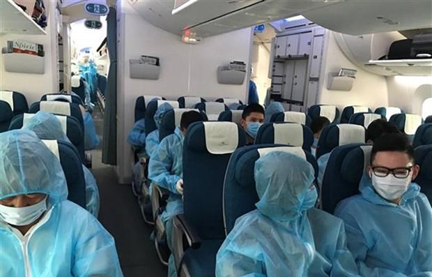 Repatrian a ciudadanos vietnamitas desde Australia y Nueva Zelanda hinh anh 1
