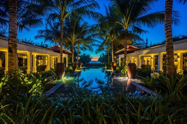 Cinco complejos turisticos vietnamitas nombrados entre los mejores de Asia hinh anh 1