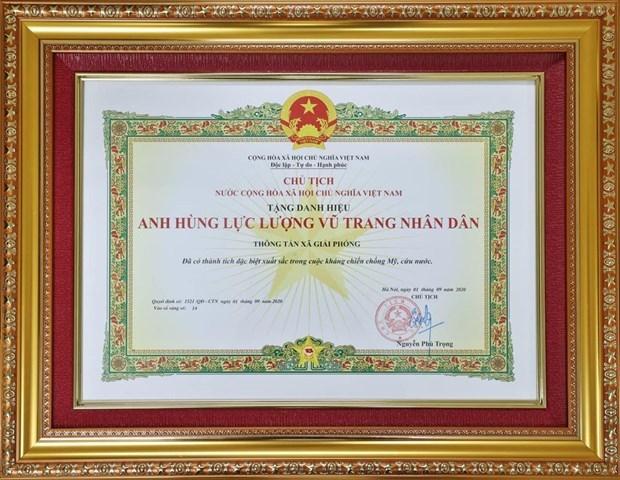 Agencia Informativa de Liberacion con sus gloriosas misiones historicas hinh anh 2