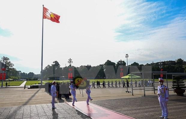 Autoridades de Hanoi rinden homenaje a fundador de la capital hinh anh 1