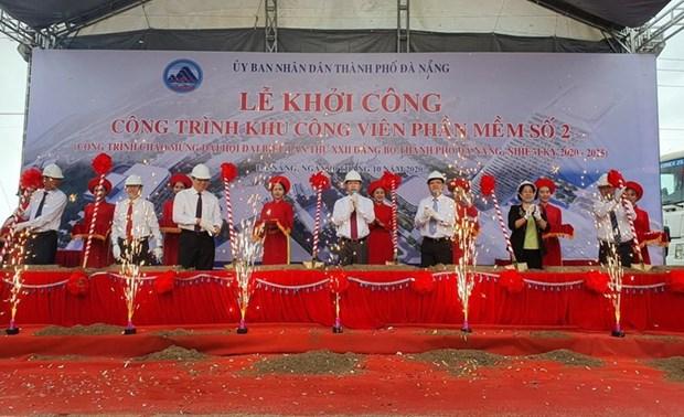 En marcha la construccion del parque de Software 2 en Da Nang hinh anh 1