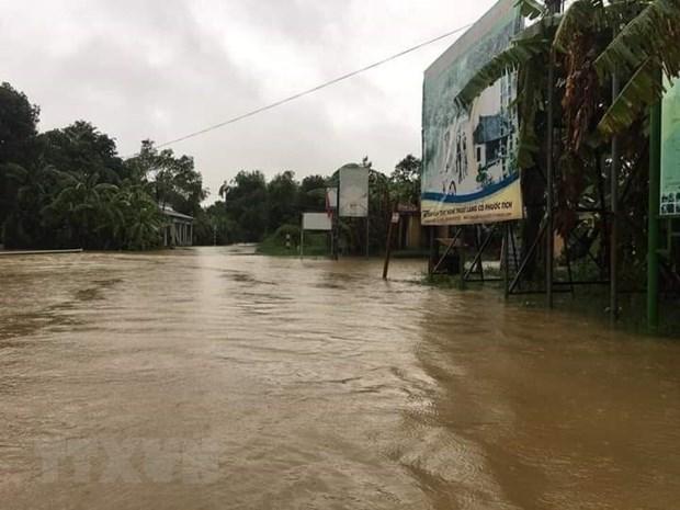 Inundaciones provocan perdidas en provincias centrales de Vietnam hinh anh 1