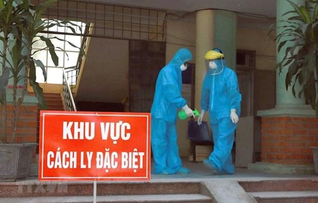 Registra Vietnam dos nuevos casos importados de COVID-19 hinh anh 1