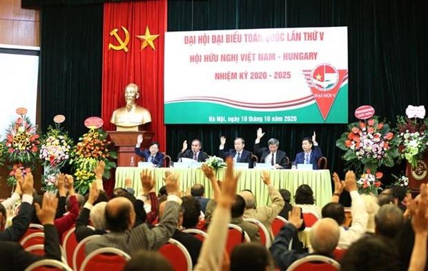 Convoca Asociacion de Amistad Vietnam-Hungria V congreso hinh anh 1