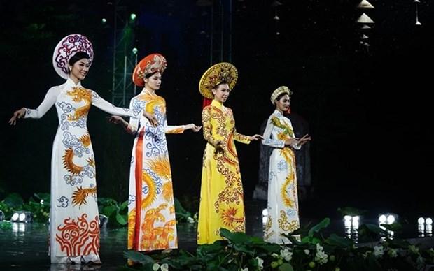 Festival resalta belleza del traje tradicional de Vietnam hinh anh 1