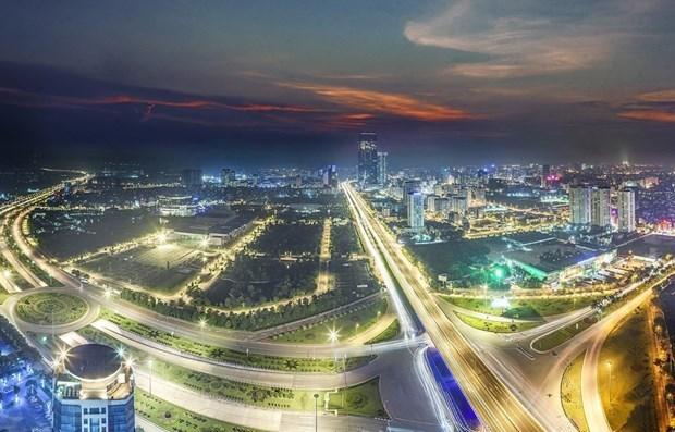 Hanoi decidida a convertirse en ciudad inteligente y moderna hinh anh 1