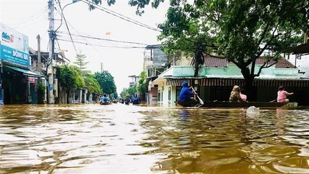 Conmemoran Dia Internacional para la Reduccion del Riesgo de Desastres en Hanoi hinh anh 1
