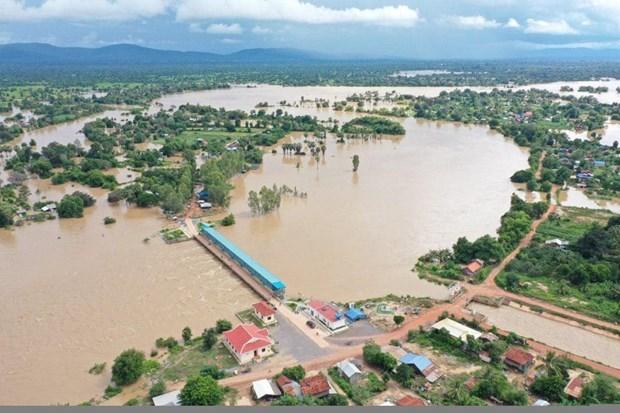 Aumenta numero de fallecidos por inundaciones en Camboya hinh anh 1