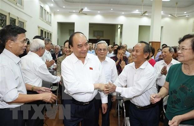 Vietnam logra superavit comercial de 17 mil millones de dolares por primera vez, segun primer ministro hinh anh 1
