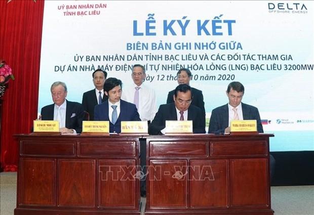 Construiran central termoelectrica de gas multimillonario en provincia vietnamita de Bac Lieu hinh anh 1