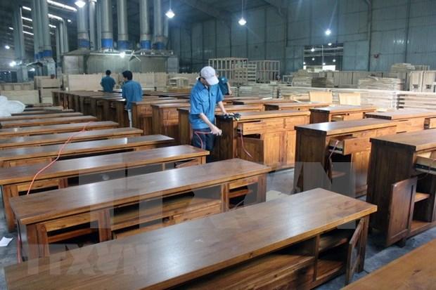 Vietnam por impulsar la exportacion de madera y productos derivados hinh anh 1