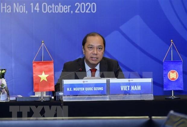 Efectuan IV Reunion del Grupo de Trabajo sobre Respuesta a Emergencias de Salud Publica de ASEAN hinh anh 1