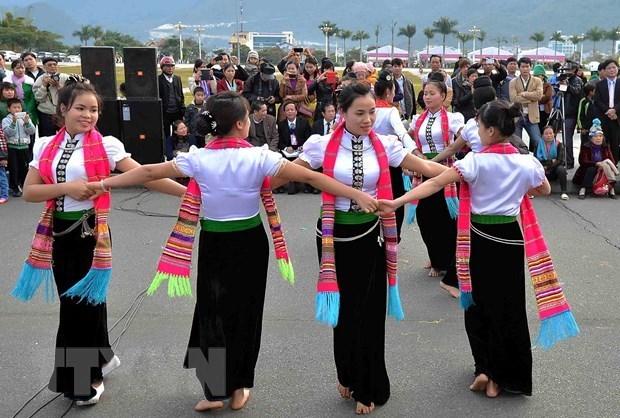 """Efectuaran en Yen Bai un masivo espectaculo de danza folclorica """"Xoe"""" hinh anh 1"""
