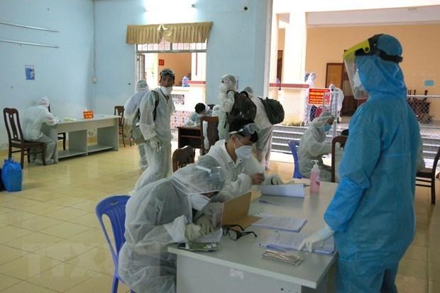 Vietnam reporta otros dos casos importados de COVID-19 hinh anh 1