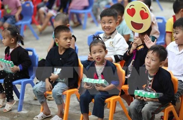Lanzan en Vietnam Semana de Nutricion y Desarrollo 2020 hinh anh 1