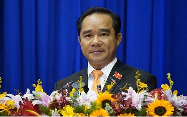 Elegido Nguyen Van Duoc secretario del Comite del PCV en Long An hinh anh 1
