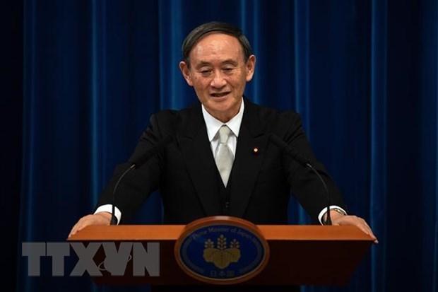 Japon anuncia agenda de visita del premier Suga Yoshihide a Vietnam hinh anh 1