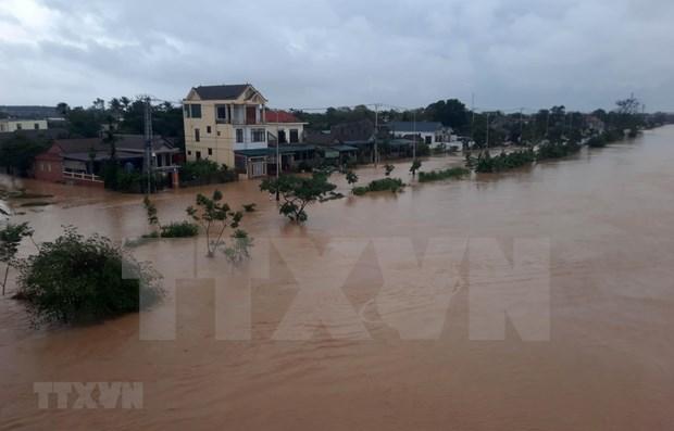 Apoya Estados Unidos respuesta de Vietnam a desastres naturales hinh anh 1