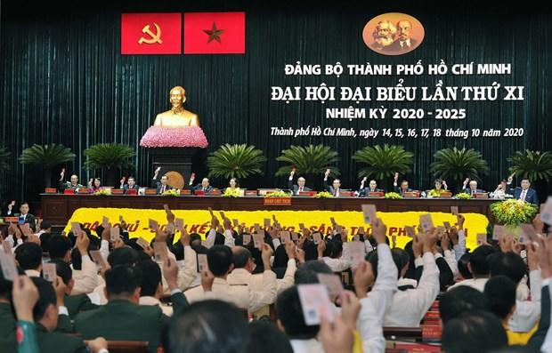Concluyen XI Asamblea del Comite partidista en Ciudad Ho Chi Minh hinh anh 1