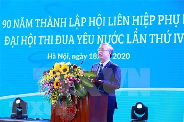 Impulsan el papel femenino en la construccion nacional de Vietnam hinh anh 1