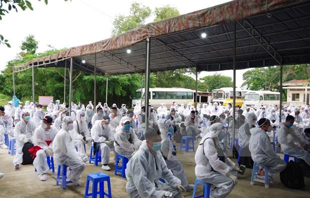 Vietnam acumula 46 dias libre del COVID-19 en la comunidad hinh anh 1