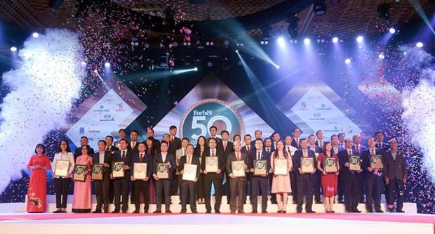 PV GAS continua su presencia en la lista de 50 empresas vietnamitas mejor cotizadas en 2019 hinh anh 1