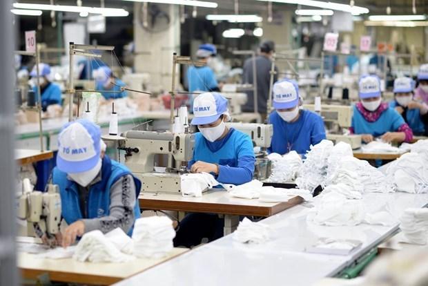 Vietnam exporta casi mil millones de mascarillas sanitarias hinh anh 1