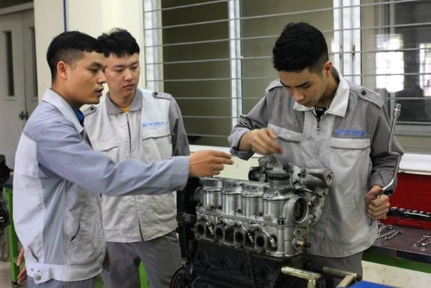 Empenada provincia vietnamita de Bac Giang en elevar calidad de recursos humanos hinh anh 1