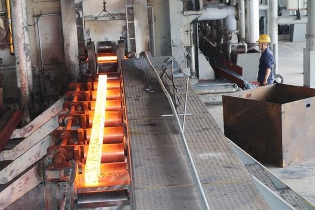 Exportaciones vietnamitas de acero para la construccion alcanzan las 400 mil toneladas hinh anh 1