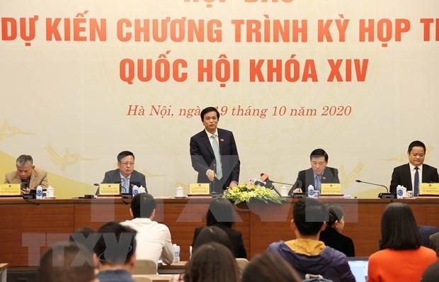 Asamblea Nacional de Vietnam iniciara manana su decimo periodo de sesiones hinh anh 1