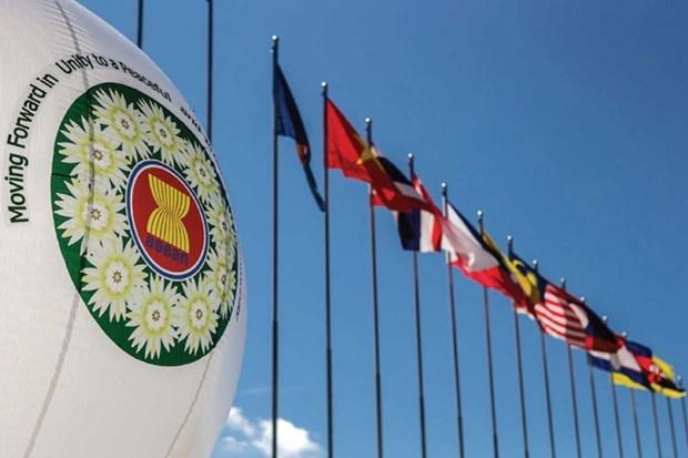 Vietnam asiste a seminario regional en linea sobre cadena de suministro de ASEAN hinh anh 1