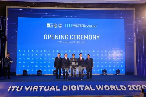 Vietnam reitera compromiso de trabajar por construir un mundo digital de paz y prosperidad hinh anh 1