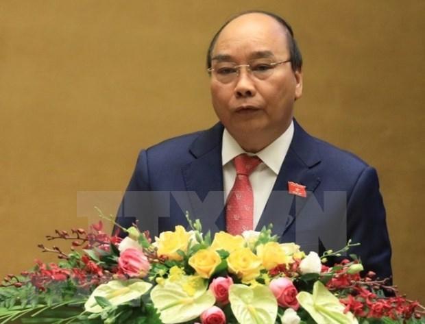 Premier de Vietnam exige medidas drasticas para cumplir las metas de desarrollo para 2021 hinh anh 1
