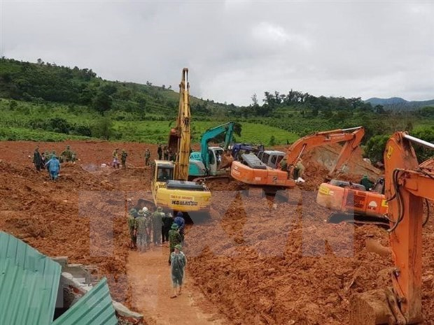 Mision diplomatica estadounidense expresa condolencias a Vietnam por perdidas causadas por inundaciones hinh anh 1
