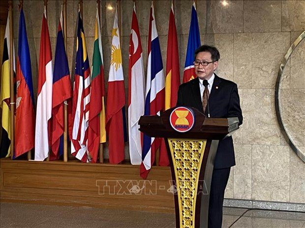 Lanzan programa de becas para jovenes lideres ASEAN-China 2020 hinh anh 1