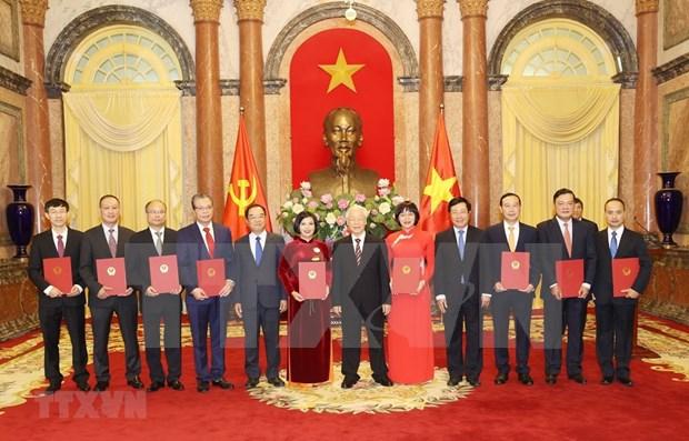 Vietnam nombra a nuevos embajadores para el mandato 2020-2023 hinh anh 1