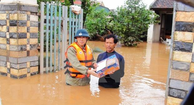 Solidariza consejera de Estado myanmena con Vietnam por secuelas de desastres naturales hinh anh 1