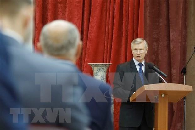 Diplomacia popular afirma su papel en fortalecimiento de relaciones Rusia-Vietnam hinh anh 1