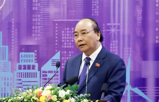 Desarrollar ciudades inteligentes, una de las tareas clave en transformacion digital en Vietnam hinh anh 1