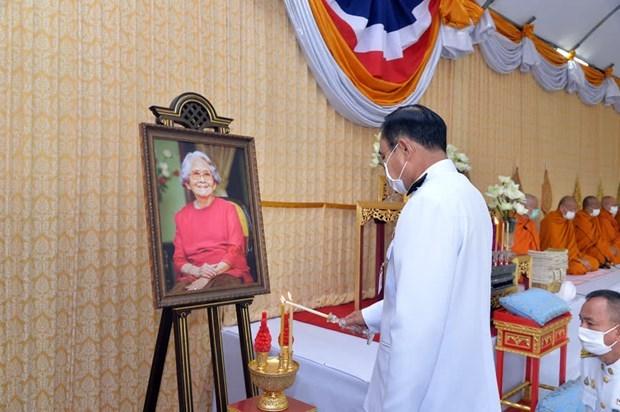 Tailandia conmemora el natalicio de la difunta Princesa Srinagarindra hinh anh 1