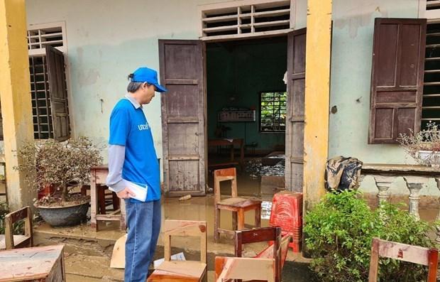 Corea del Sur y UNICEF ofrecen ayuda a pobladores afectados por inundaciones en Vietnam hinh anh 1