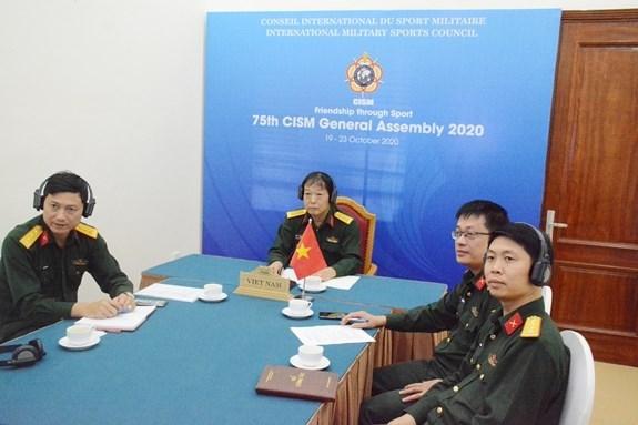 Participa Vietnam en Asamblea General del Consejo Internacional de Deporte Militar hinh anh 1