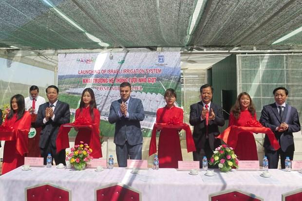 Provincia norvietnamita promueve cooperacion con Israel en agricultura hinh anh 1