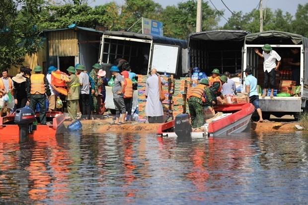 Estados Unidos extiende condolencias a Vietnam por perdidas en inundaciones hinh anh 1