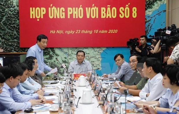 Vietnam se esfuerza para hacer frente a tormentas e inundaciones en la region central hinh anh 1