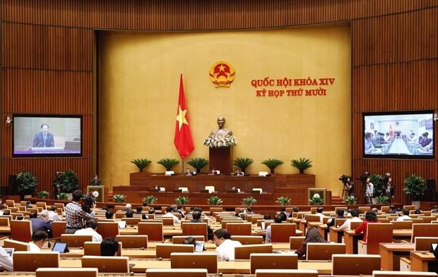 Parlamento vietnamita debate el proyecto de Ley de Proteccion del Entorno (enmendada) hinh anh 1